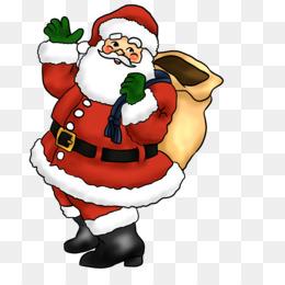 Papai Noel Está Vindo Para A Cidade Fundo Png Imagem Png