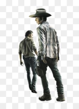 The Walking Dead TWD Michonne Daryl Dixon Rick Grimes Carl Grimes T-Shirt
