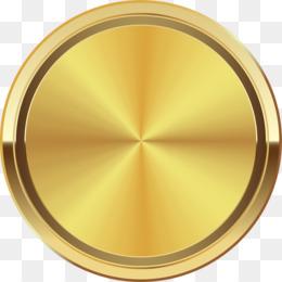 Halo Dourado Fundo Png Imagem Png Círculo De Ouro Em