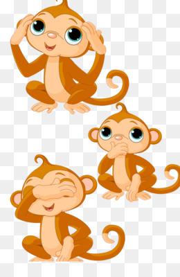 Bebe Macaco Fundo Png Imagem Png Macaco De Desenho Cartoon