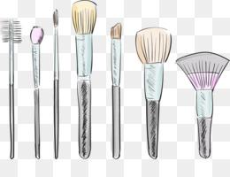 Illustrator Fundo Png Imagem Png Maquiagem Escova De