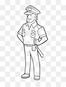 Paginas Fundo Png Imagem Png Policial Livro De Colorir Emblema